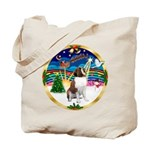 XmasMusic 3/ St Bernard #1 Tote Bag