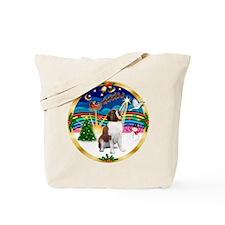 XmasMusic 3/ St Bernard #1 Tote Bag