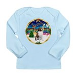 XmasMusic 3/ St Bernard #1 Long Sleeve Infant T-Sh