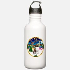XmasMusic 3/ St Bernard #1 Water Bottle