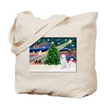 Xmas Magic & Samo Tote Bag