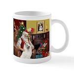 Santa's Samoyed Mug