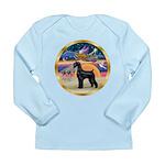 XmasStar/Schnauzer G Long Sleeve Infant T-Shirt