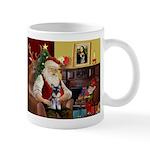Santa's Schnauzer pup Mug