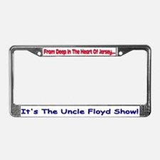 Uncle Floyd Show License Plate Frame