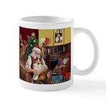 Santa's Sheltie (SW) Mug