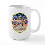 XmasStar/Shih Tzu Large Mug