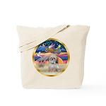 XmasStar/Shih Tzu Tote Bag
