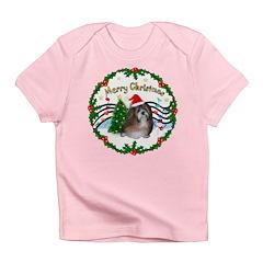 XmasMusic1MC/Shih Tzu Infant T-Shirt