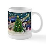 XmasMagic/Siberian Husky Mug