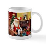 Santa's Sib Husky Mug