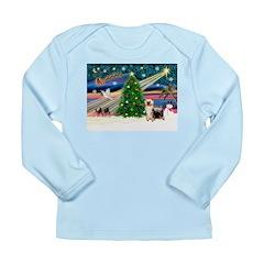 Xmas Magic & Silk Ter Long Sleeve Infant T-Shirt