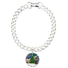 Xmas Magic & Skye Terrier Bracelet