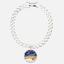 XmasSunrise/Tibetan Spaniel Bracelet