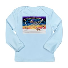 XmasSunrise/Tibetan Spaniel Long Sleeve Infant T-S
