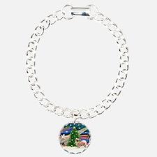 XmasMagic/Tibetan Spaniel Bracelet