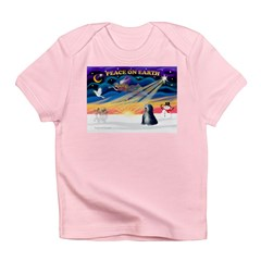 XmasSunrise/Tibet Ter Infant T-Shirt