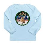 XmasSunrise/Vizsla Long Sleeve Infant T-Shirt