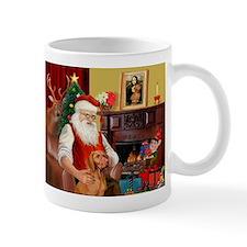 Santa's Vizsla Small Mug
