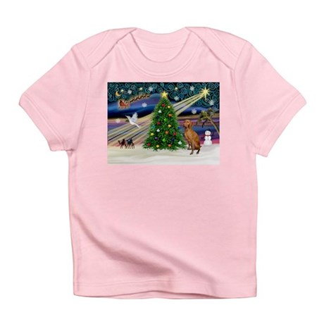Xmas Magic & Vizsla Infant T-Shirt