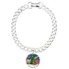 XmasMagic/2 Weimaraners Bracelet