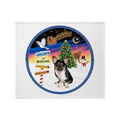 XmasSigns/Corgi Pup (Z) Throw Blanket