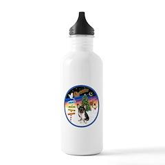 XmasSigns/Corgi Pup (Z) Water Bottle