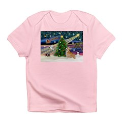XmasMagic/Corgi (7b) Infant T-Shirt