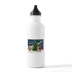 XmasMagic/Corgi (7b) Water Bottle