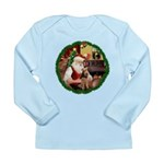 Santa's Welsh T Long Sleeve Infant T-Shirt