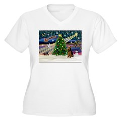 Xmas Magic & Welsh Terrier T-Shirt