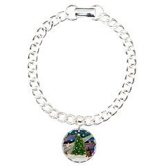 Xmas Magic & Welsh Terrier Bracelet