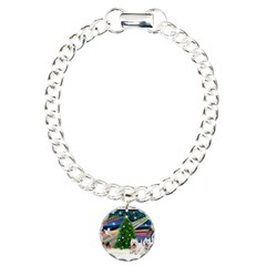 Xmas Magic & 2 Westies Bracelet