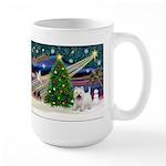 Xmas Magic & Westie Large Mug