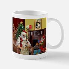 Santa's Wheaten (#7) Small Small Mug