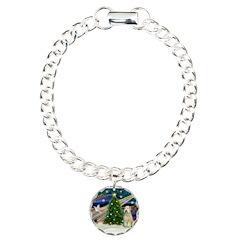 XmasMagic/Wheaten (#10) Bracelet