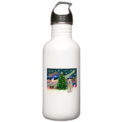 XmasMagic/Wheaten (#5) Water Bottle