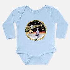 Wisemen/Whippet #8 Long Sleeve Infant Bodysuit