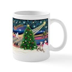 Xmas Magic & Whippet Mug