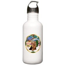 XmasMagic/Yorkie #7 Water Bottle