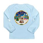 XmasMusic 3/Yorkie #2 Long Sleeve Infant T-Shirt
