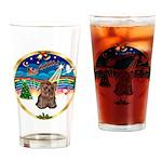 XmasMusic 3/Yorkie #11 Drinking Glass