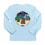 XmasMusic 3/Yorkie #11 Long Sleeve Infant T-Shirt