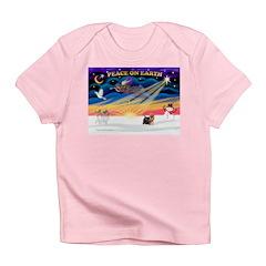 XmasSunrise/Yorkie #9 Infant T-Shirt