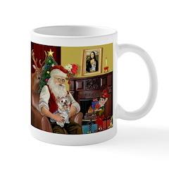 Santa's Yorkie (#13) Mug