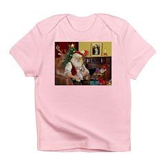 Santa's Yorkie (#13) Infant T-Shirt