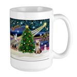 Xmas Magic/Yorkie #2 Large Mug