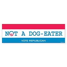 Not a Dog Eater Bumper Sticker