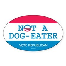 Not a Dog Eater Decal