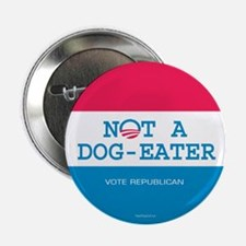"""Not a Dog Eater 2.25"""" Button (10 pack)"""